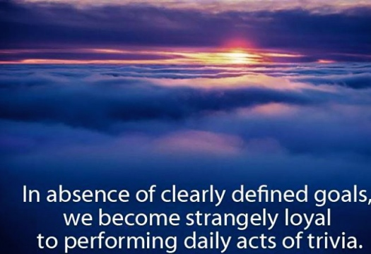 Clearly Defined Goals Help Define Purpose