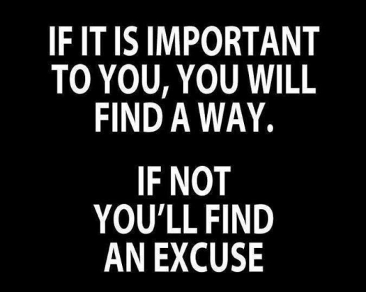 The Art Of Making Excuses